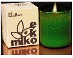 """Eko Miko """"EkoHeroine"""" candle"""
